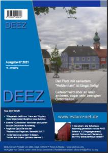 Cover der DEEZ-Ausgabe 07.2021