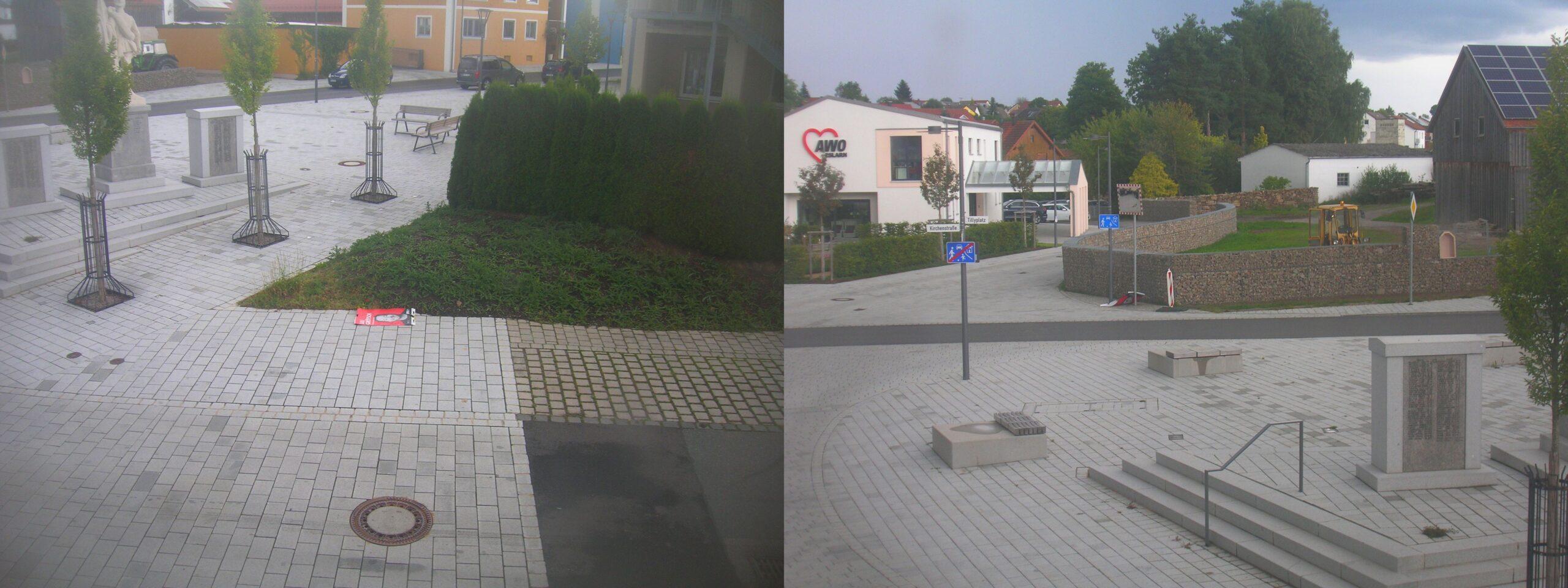 Plakat-Vandalismus in Eslarn
